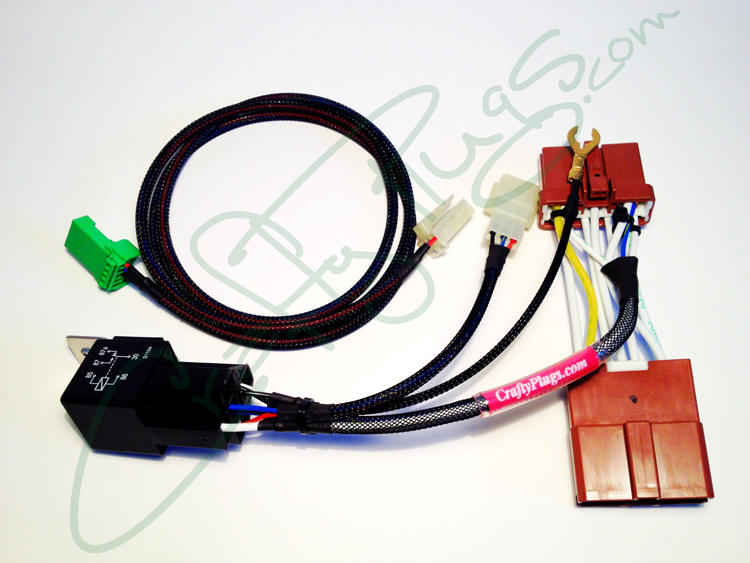 honda  acura plug  u0026 play s2000 push button start kit